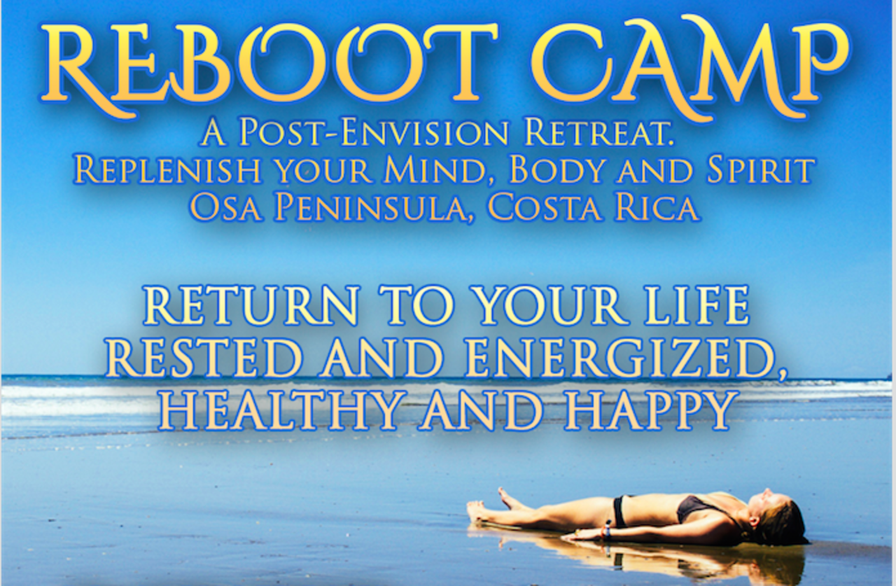 Reboot Camp A Reset For Your Mind Body And Spirit Event