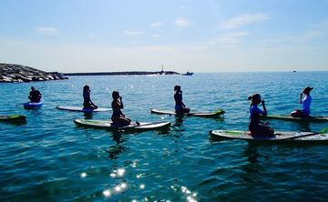 Stand Up Paddle Board Yoga Workshop Aug 2019