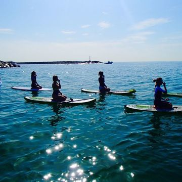 Stand Up Paddle Board Yoga Workshop Jan 2019