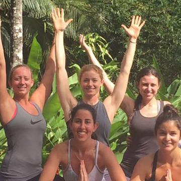 200 hr YTT, Hariomyogaschool, The Goddess Garden, Cahuita, Costa Rica