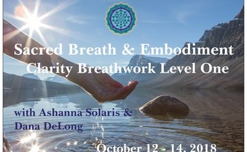 Amsterdam Clarity Breathwork Level 1: Sacred Breath & Embodiment