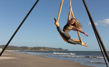 CircAsana Aerial Yoga Teacher Training Retreat in Panama