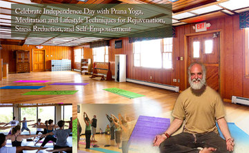 Celebrate Independence Day with Prana Yoga, Meditation and Lifestyle Techniques for Rejuvenation, Stress Reduction, and Self-Empowerment
