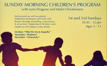 Children's Time at The Shambhala Centre
