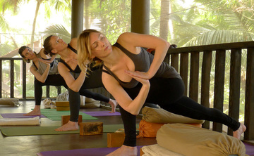 Hatha and Vinyasa Yoga Retreat in Goa with Heather Elton