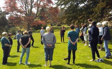 Sharpham House: Mindfulness through Singing Retreat-(4 nights)