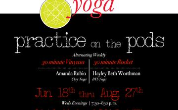 MoWa Yoga Presents: Practice on the Pods