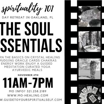 Spirituality 101: Soul Essentials