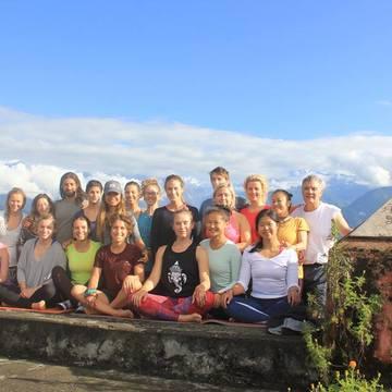 200 heures de formation de professeur de yoga à Rishikesh en Janvier 2019