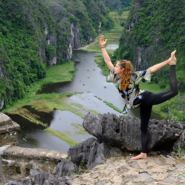 Majestic Vietnam Yoga Retreat