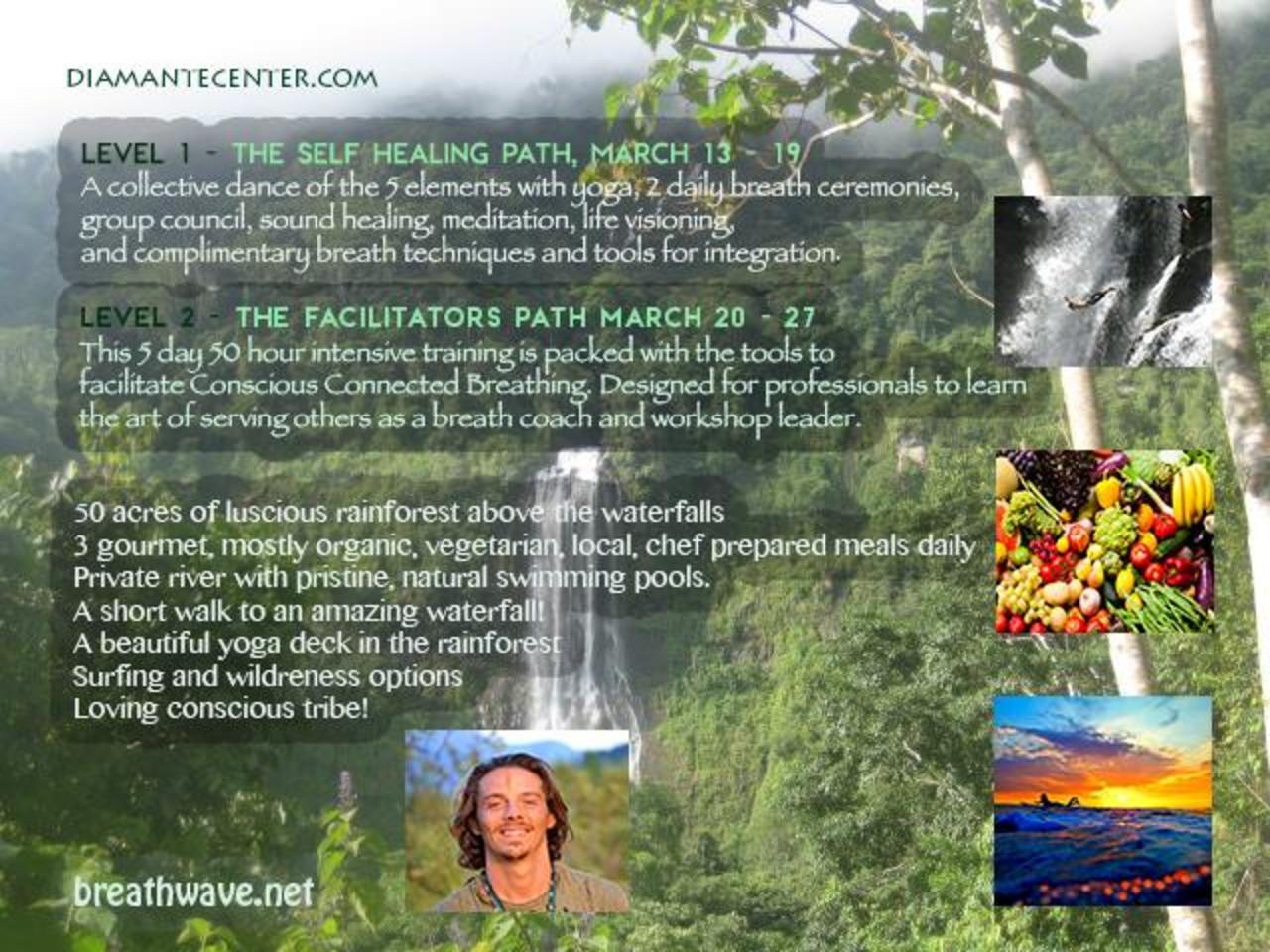 Yoga Connects 2 Day Training With >> Waterfall Breath Training Event Retreat Guru