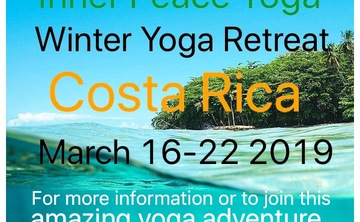 Inner Peace Nature Yoga Retreat in Costa Rica March 2019