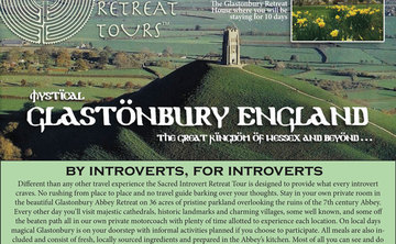 Sacred Introvert Retreat Tour to Mystical Glastonbury, the Kingdom of Wessex and Beyond