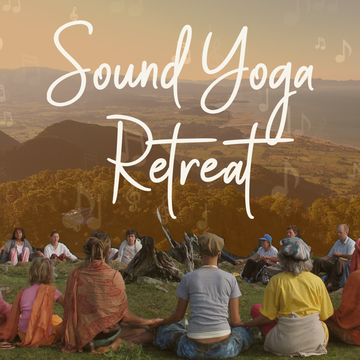 3 day Sound Yoga Retreat & Bhakti Celebration