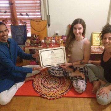 29 Days 200hs Yoga Teacher Training with Siddhartha Shiv Khanna (Jan 2020 - Sicily)