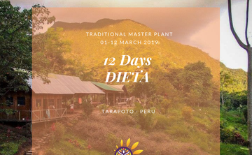 12 DAYS TRADITIONAL MASTER PLANT DIETA