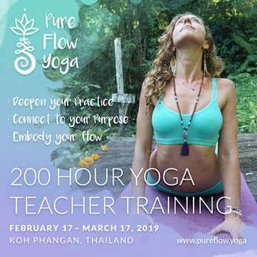 200 Hour Yoga Teacher Training in Thailand