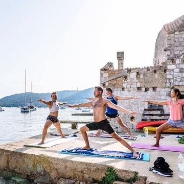 Yoga Sailing Holiday in Croatia