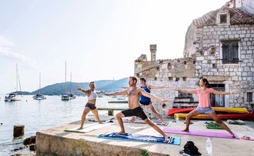 Yoga Sailing Holiday in Croatia