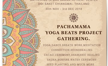 PACHAMAMA YOGA BEATS PROJECT GATHERING.