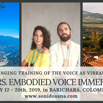 40 hs Embodied Voice Immersion in Colombia