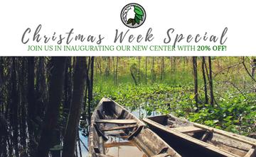 20% Off Christmas Week Special | Spirit Healing Ayahuasca Retreat