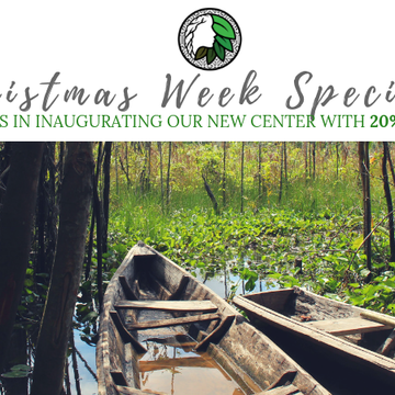 20% Off Christmas Week Special | Spirit Healing Ayahuasca Retreat