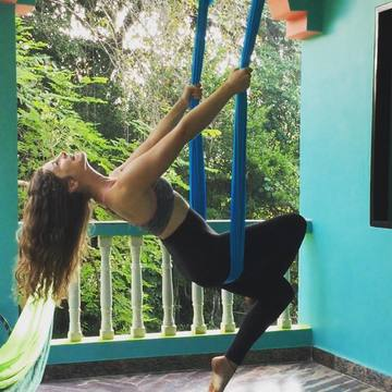 Aerial Yoga Zen Paradise Retreat