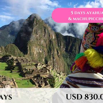 5  DAYS AYAHUASCA RETREAT with MACHUPICCHU TOUR