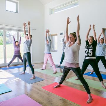 Wild Atlantic way yoga retreat.