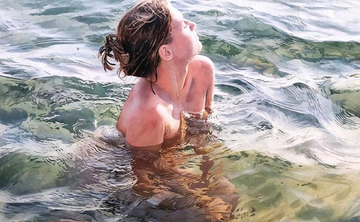 Marcos Beccari – The Figure Submerged in Water