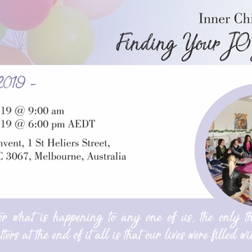 Inner Child Workshop: Finding Your JOY Again!