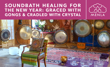 Sound Bath Healing for the New Year: Graced with Gongs & Cradled with Crystal