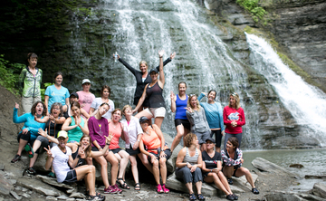 Ithaca Glamping Yoga Retreat