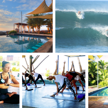 Yoga Surf Adventure in Paradise