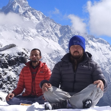 Yoga trek in Himalayas of Nepal (poonHill mountain )