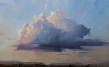 Landscape Painting in Tuscany with Thorgrimur Einarsson