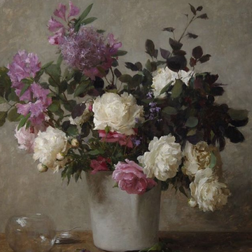 Michael Klein – Still Life Floral Painting