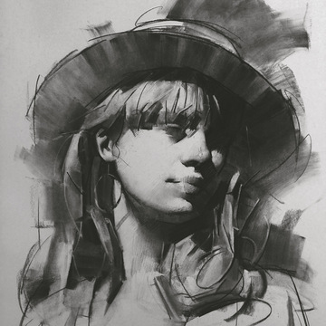 Jie Gao – Portrait Drawing