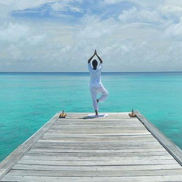 7-day yoga retreat to relax and recenter on the Dhigurah Island in the Maldives