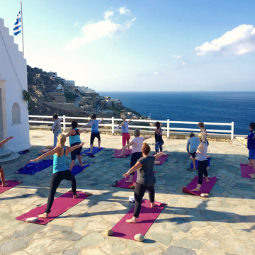 7 Day Luxury Yoga Retreat on Paros Island, Greece