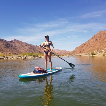 African SUP & Yoga Expedition for Wild at Heart Women