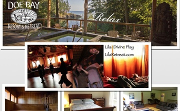 """The Art of the Heart"" -Fall LILA: Divine Playformation Weekend Retreat, Doe Bay Resort, Orcas Island, WA"