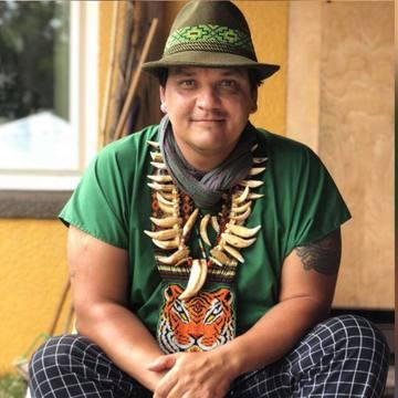 Taita Pedro Davila from Putumayo Colombia