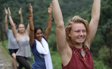 One and Two week yoga retreat in Rishikesh India
