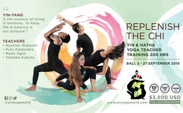 Replenish The Chi - Yin & Hatha Yoga Teacher Training 200Hrs