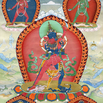 Chakrasamvara Amending & Four Karmas Fire Offering