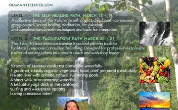 Waterfall Breath Retreat And Training in Costa Rica