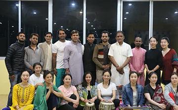 100 hour Hatha Yoga Training in Rishikesh India.