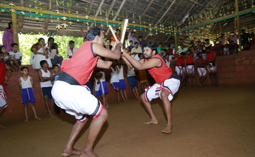 30 Days Kalaripayattu, Meditation and Horse Riding Retreat in Kerala India. Kadathanadan Kalari Sangam, Wayanad